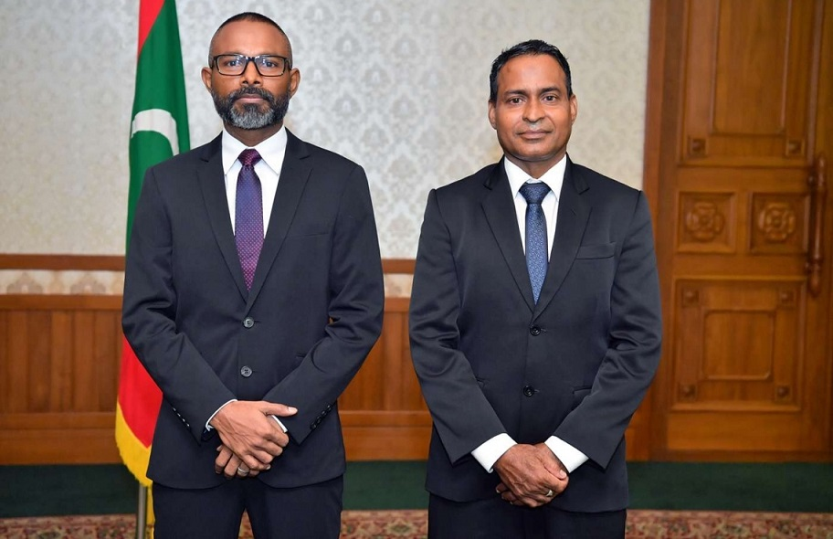 President Yameen appoints Uz. Abdulla Didi and Uz. Abdul Ghanee Mohamed to the Supreme Court bench